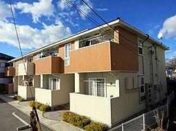 愛知県岡崎市大平町字才勝の賃貸アパートの外観