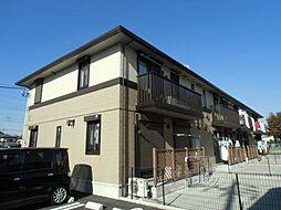 千葉県野田市花井の賃貸アパートの外観