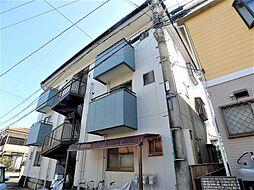 埼玉県越谷市東大沢4丁目の賃貸マンションの外観