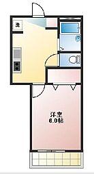 東京都武蔵野市吉祥寺南町1丁目の賃貸アパートの間取り