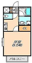兵庫県神戸市西区前開南町2丁目の賃貸マンションの間取り