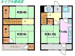 [テラスハウス] 三重県桑名市大字西別所 の賃貸【三重県 / 桑名市】の間取り