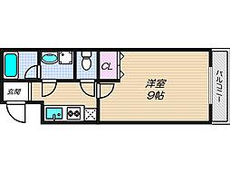 エスティームI番館[2階]の間取り