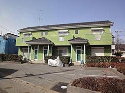 埼玉県春日部市大衾の賃貸アパートの外観