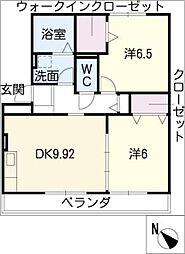 立志舎[2階]の間取り