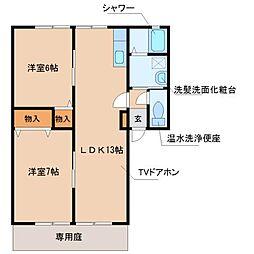 オーガスタIII[2階]の間取り