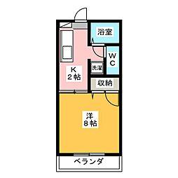 フレグランスTAEみずほ[2階]の間取り