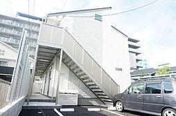 埼玉県草加市吉町4の賃貸アパートの外観