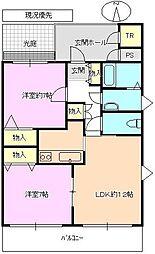 ラトナ東口ビル[3階]の間取り