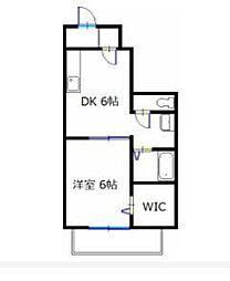 ウェルヴィラC棟[1階]の間取り