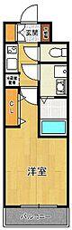 アーデン甲子園[6階]の間取り