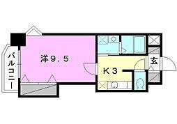 コンフォート23[201 号室号室]の間取り
