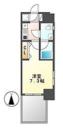 ライブコート泉[15階]の間取り