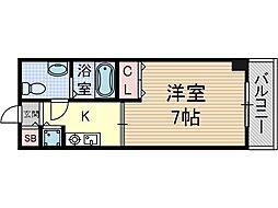 サンピラー茨木by KアンドI[4階]の間取り