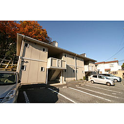 兵庫県神戸市北区山田町小部の賃貸アパートの外観