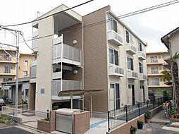 東京都足立区関原1の賃貸マンションの外観
