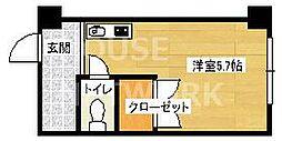 Lofty46[304号室号室]の間取り