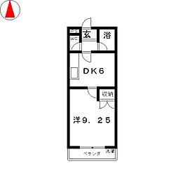 グランドォール宇都宮[3階]の間取り