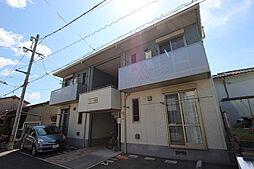 広島県広島市安佐南区中筋3丁目の賃貸アパートの外観