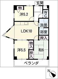 M・Sイワイ[2階]の間取り