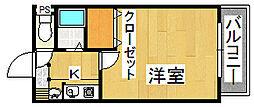 生駒カッレジシティI号棟[4階]の間取り