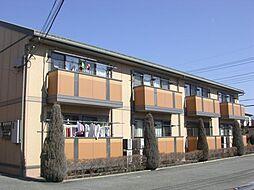 山梨県甲府市上今井町の賃貸アパートの外観
