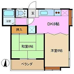 プレイス本郷 3番館[2階]の間取り