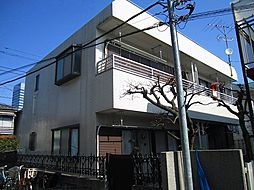 東京都渋谷区初台2丁目の賃貸アパートの外観