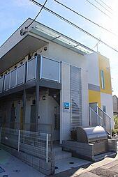 埼玉県八潮市垳の賃貸アパートの外観