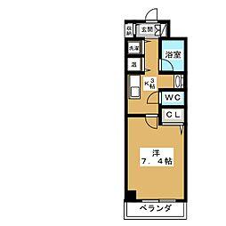 AKATSUKIII[3階]の間取り