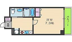セイワパレス堂島シティ[5階]の間取り