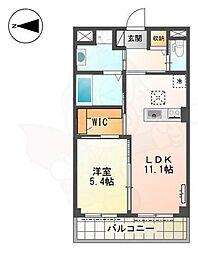 近鉄南大阪線 河内松原駅 徒歩14分の賃貸マンション 1階1LDKの間取り