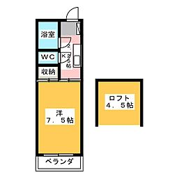 NKマンション[4階]の間取り