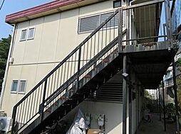神奈川県横浜市中区池袋の賃貸アパートの外観