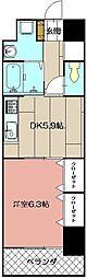 グランドツイン黒崎[6階]の間取り