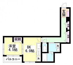 Nコートルピア[2階]の間取り