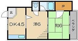 VILA赤とんぼ[2階]の間取り