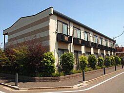 東京都三鷹市北野3丁目の賃貸アパートの外観
