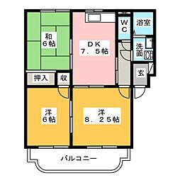 メゾン出町[2階]の間取り