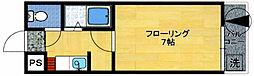 ユンゲルハイム神松寺[2階]の間取り