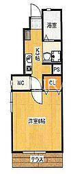 Arpeggio 東棟[1階]の間取り