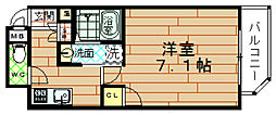 レグゼスタ福島[7階]の間取り