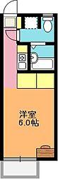 埼玉県上尾市大字壱丁目の賃貸アパートの間取り