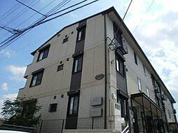 埼玉県さいたま市見沼区東門前の賃貸アパートの外観
