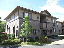 京都府木津川市梅美台7丁目の賃貸アパートの外観