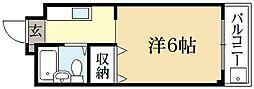 メゾンLee[2階]の間取り