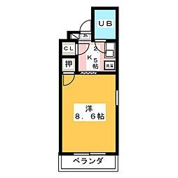 リエス岐阜元町[5階]の間取り