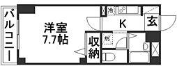 NMBB新倉敷[202号室]の間取り
