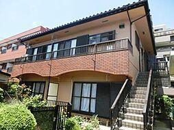 埼玉県さいたま市南区根岸2丁目の賃貸アパートの外観