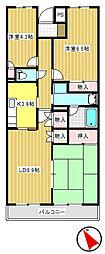 グランフォーレ[3階]の間取り